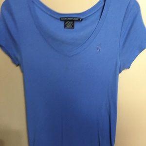 Ralph Lauren sport M V Neck blue